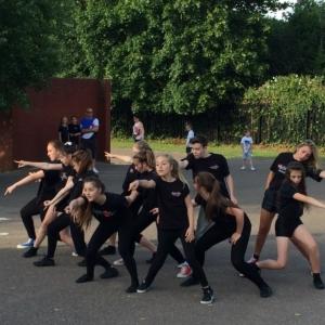 Dancers Perform at Harlow Fetes